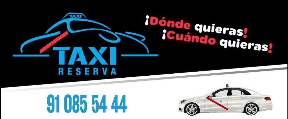 Servicio de taxi en Madrid